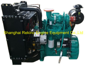 DCEC Cummins 4BTA3.9-G11 G drive diesel engine for generator genset 70KW 1500RPM (80KW 1800RPM)