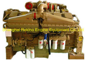 CCEC Cummins KT38-M800 (800HP 1800RPM ) marine propulsion diesel engine motor